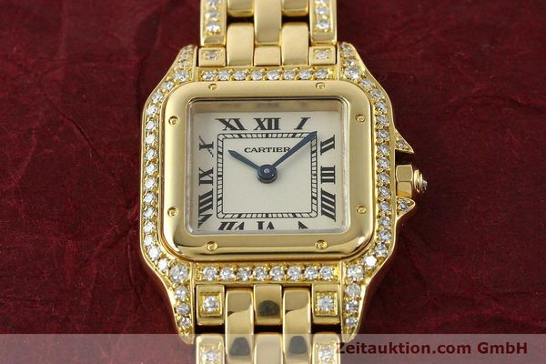 montre de luxe d occasion Cartier Panthere or 18 ct quartz Kal. 157  | 142523 15