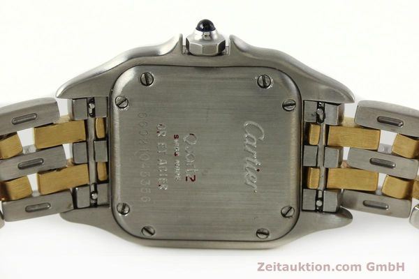 Used luxury watch Cartier Panthere steel / gold quartz Kal. 157  | 142525 09