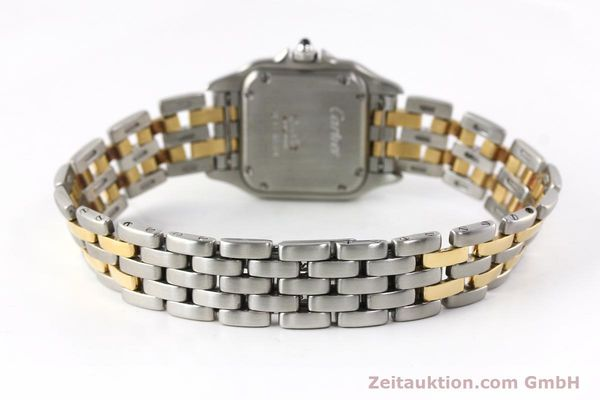 Used luxury watch Cartier Panthere steel / gold quartz Kal. 157  | 142525 10