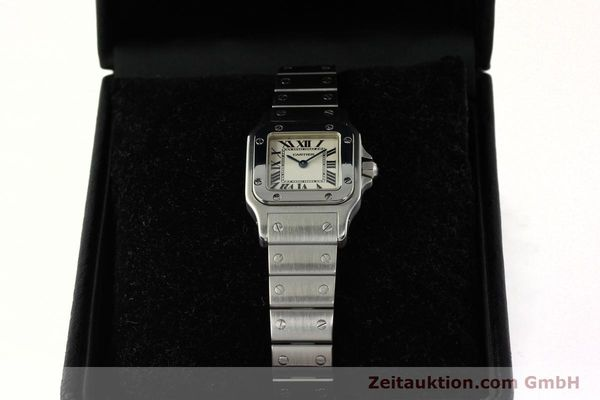 Used luxury watch Cartier Santos steel quartz Kal. 157  | 142526 07