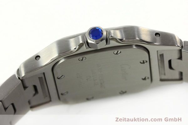 Used luxury watch Cartier Santos steel quartz Kal. 157  | 142526 08