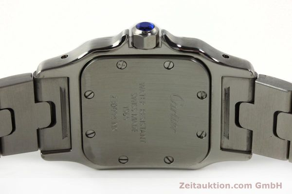 Used luxury watch Cartier Santos steel quartz Kal. 157  | 142526 09