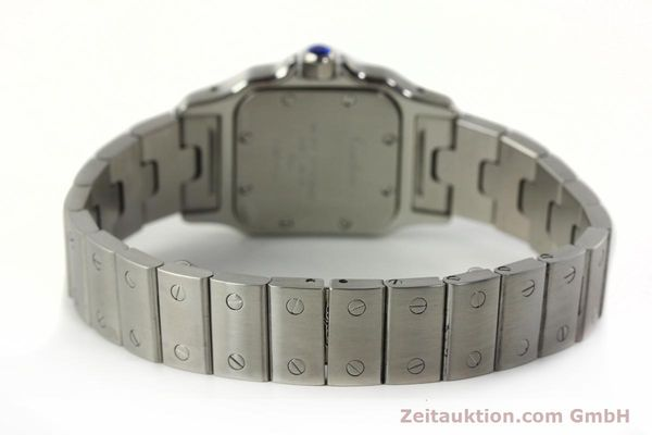 Used luxury watch Cartier Santos steel quartz Kal. 157  | 142526 10