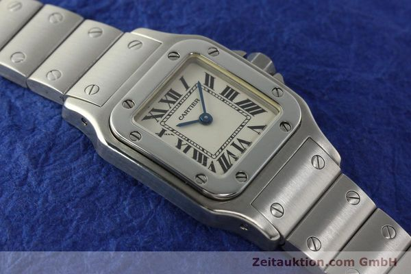 Used luxury watch Cartier Santos steel quartz Kal. 157  | 142526 13
