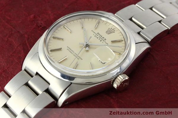 Used luxury watch Rolex Date steel automatic Kal. 1570 Ref. 1500  | 142530 01