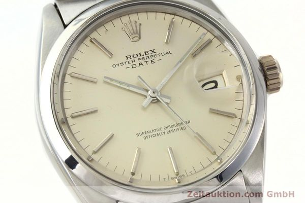 Used luxury watch Rolex Date steel automatic Kal. 1570 Ref. 1500  | 142530 02