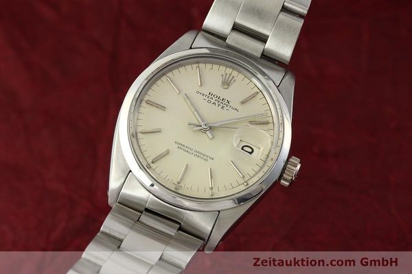 Used luxury watch Rolex Date steel automatic Kal. 1570 Ref. 1500  | 142530 04