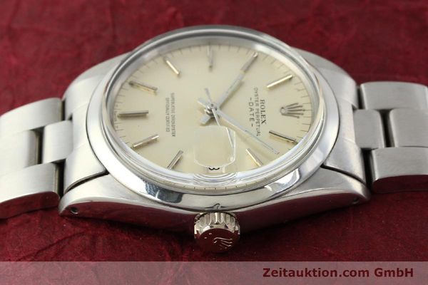Used luxury watch Rolex Date steel automatic Kal. 1570 Ref. 1500  | 142530 05