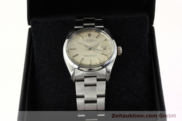 Used luxury watch Rolex Date steel automatic Kal. 1570 Ref. 1500  | 142530 07