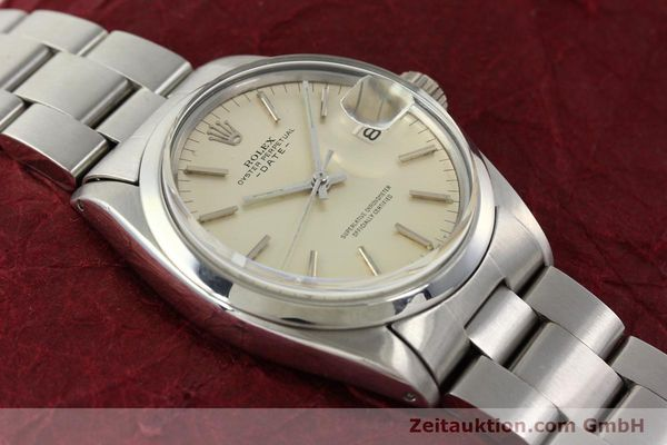 Used luxury watch Rolex Date steel automatic Kal. 1570 Ref. 1500  | 142530 15