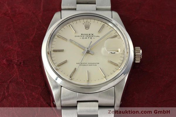 Used luxury watch Rolex Date steel automatic Kal. 1570 Ref. 1500  | 142530 16