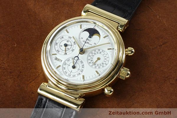 Used luxury watch IWC Da Vinci chronograph 18 ct gold automatic Kal. 790 Ref. 3750  | 142531 01
