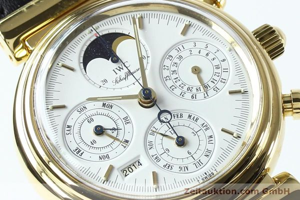 Used luxury watch IWC Da Vinci chronograph 18 ct gold automatic Kal. 790 Ref. 3750  | 142531 02