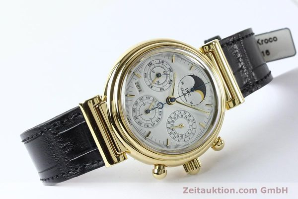 montre de luxe d occasion IWC Da Vinci chronographe or 18 ct automatique Kal. 790 Ref. 3750  | 142531 03