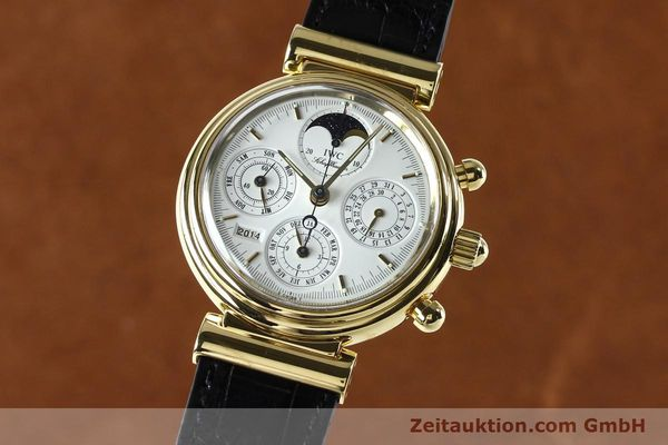 Used luxury watch IWC Da Vinci chronograph 18 ct gold automatic Kal. 790 Ref. 3750  | 142531 04