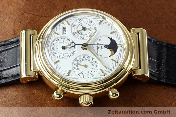 Used luxury watch IWC Da Vinci chronograph 18 ct gold automatic Kal. 790 Ref. 3750  | 142531 05