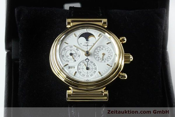 Used luxury watch IWC Da Vinci chronograph 18 ct gold automatic Kal. 790 Ref. 3750  | 142531 07