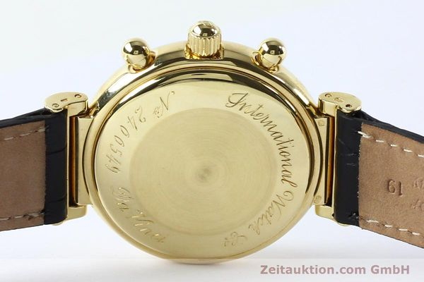 Used luxury watch IWC Da Vinci chronograph 18 ct gold automatic Kal. 790 Ref. 3750  | 142531 10