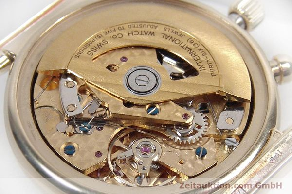 Used luxury watch IWC Da Vinci chronograph 18 ct gold automatic Kal. 790 Ref. 3750  | 142531 12