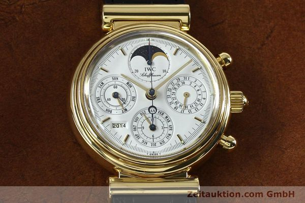 Used luxury watch IWC Da Vinci chronograph 18 ct gold automatic Kal. 790 Ref. 3750  | 142531 16
