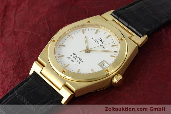 Used luxury watch IWC Ingenieur 18 ct gold automatic Kal. C37590 Ref. 9238/3518  | 142532 01