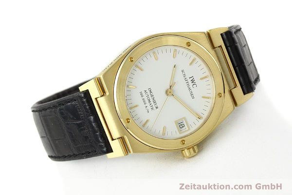 Used luxury watch IWC Ingenieur 18 ct gold automatic Kal. C37590 Ref. 9238/3518  | 142532 03