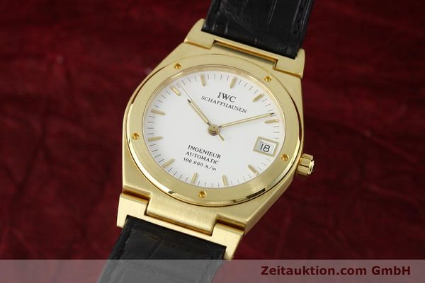 Used luxury watch IWC Ingenieur 18 ct gold automatic Kal. C37590 Ref. 9238/3518  | 142532 04