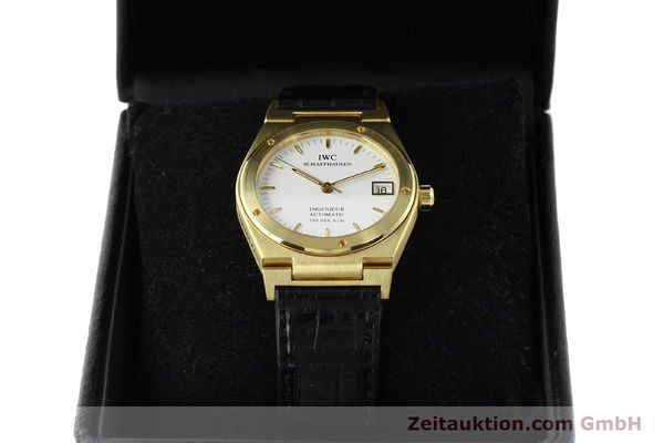 Used luxury watch IWC Ingenieur 18 ct gold automatic Kal. C37590 Ref. 9238/3518  | 142532 07