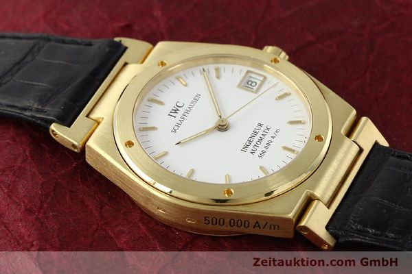 Used luxury watch IWC Ingenieur 18 ct gold automatic Kal. C37590 Ref. 9238/3518  | 142532 16