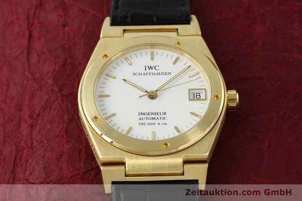 Used luxury watch IWC Ingenieur 18 ct gold automatic Kal. C37590 Ref. 9238/3518  | 142532 17