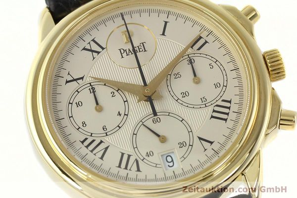 Used luxury watch Piaget Gouverneur chronograph 18 ct gold automatic Kal. 1185 P Ref. 12978  | 142535 02