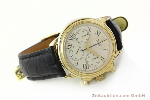 Used luxury watch Piaget Gouverneur chronograph 18 ct gold automatic Kal. 1185 P Ref. 12978  | 142535 03