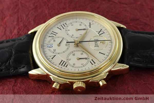 Used luxury watch Piaget Gouverneur chronograph 18 ct gold automatic Kal. 1185 P Ref. 12978  | 142535 05