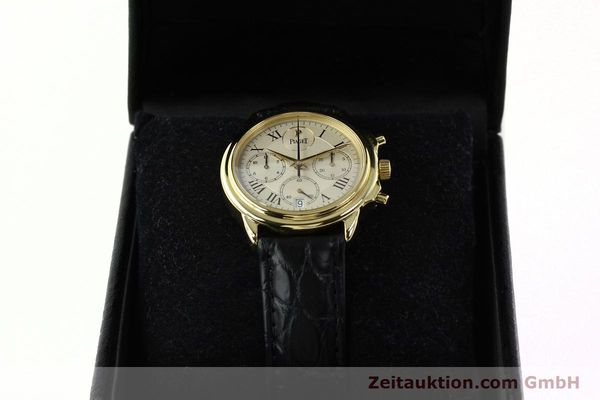 Used luxury watch Piaget Gouverneur chronograph 18 ct gold automatic Kal. 1185 P Ref. 12978  | 142535 07