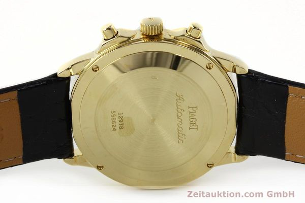Used luxury watch Piaget Gouverneur chronograph 18 ct gold automatic Kal. 1185 P Ref. 12978  | 142535 08