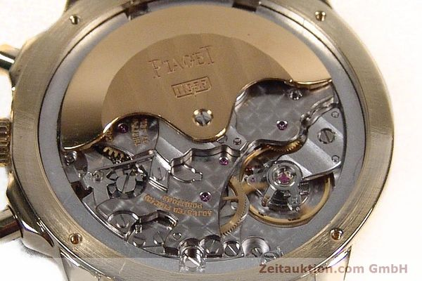 Used luxury watch Piaget Gouverneur chronograph 18 ct gold automatic Kal. 1185 P Ref. 12978  | 142535 10
