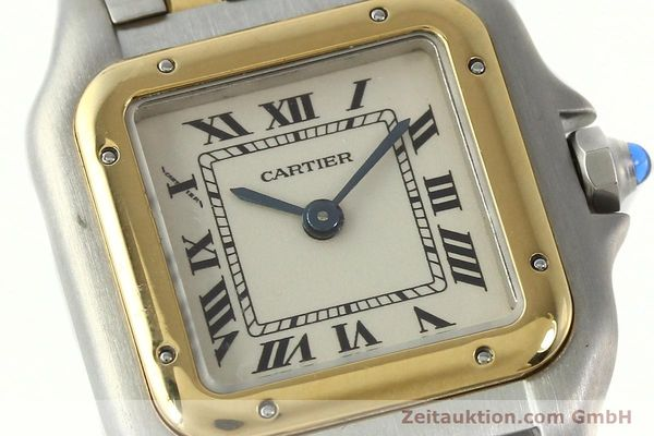 Used luxury watch Cartier Panthere steel / gold quartz Kal. 66  | 142536 02