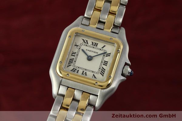 Used luxury watch Cartier Panthere steel / gold quartz Kal. 66  | 142536 04