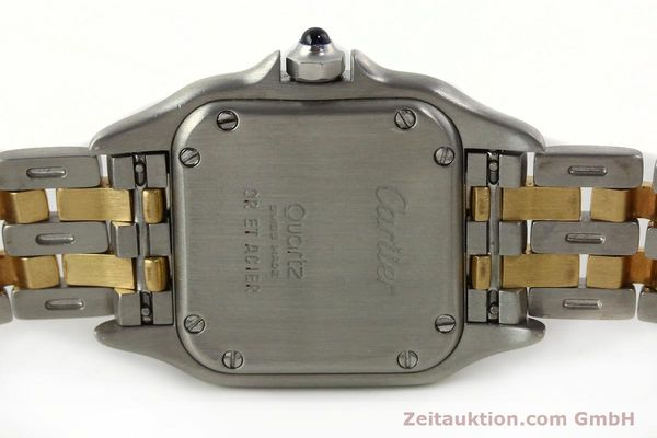 Used luxury watch Cartier Panthere steel / gold quartz Kal. 66  | 142536 09