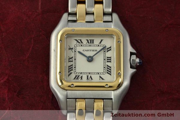 Used luxury watch Cartier Panthere steel / gold quartz Kal. 66  | 142536 16