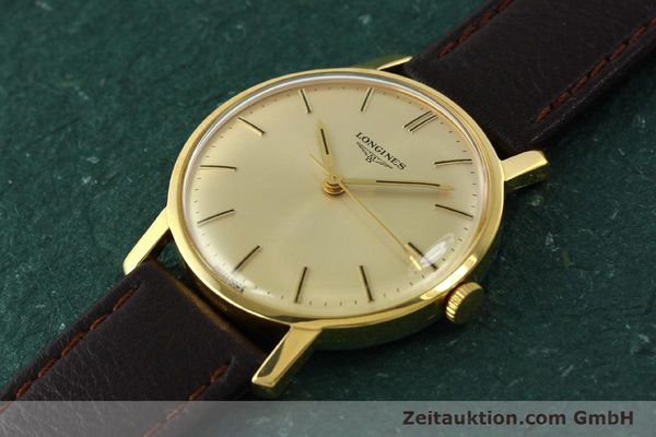 Used luxury watch Longines * gold-plated manual winding Kal. 284 Ref. 7786-3  | 142537 01