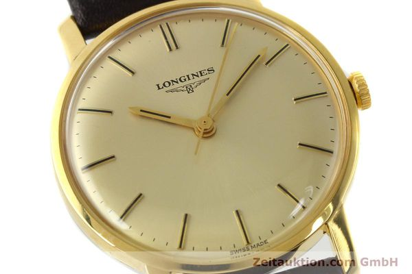 Used luxury watch Longines * gold-plated manual winding Kal. 284 Ref. 7786-3  | 142537 02
