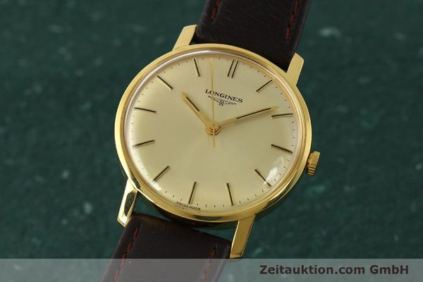 Used luxury watch Longines * gold-plated manual winding Kal. 284 Ref. 7786-3  | 142537 04