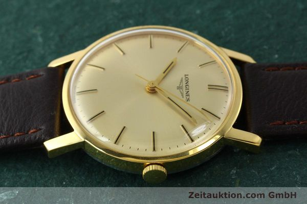 Used luxury watch Longines * gold-plated manual winding Kal. 284 Ref. 7786-3  | 142537 05