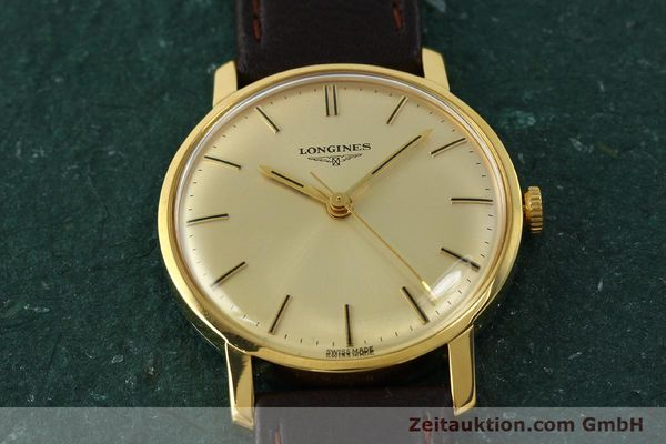 Used luxury watch Longines * gold-plated manual winding Kal. 284 Ref. 7786-3  | 142537 16