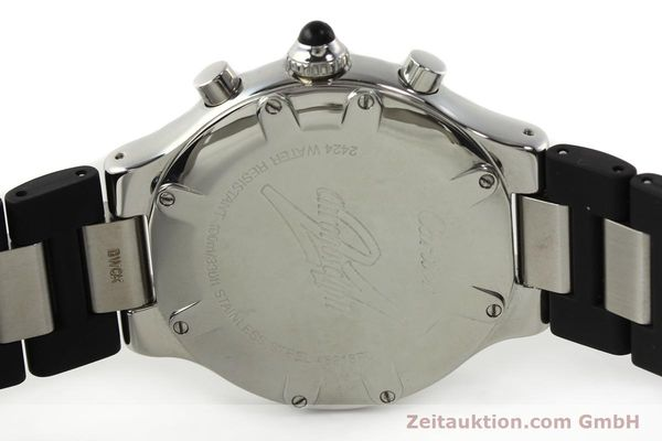Used luxury watch Cartier Autoscaph 21 chronograph steel quartz Kal. ETA 251.272  | 142538 09