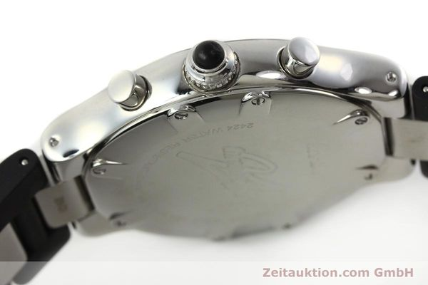 Used luxury watch Cartier Autoscaph 21 chronograph steel quartz Kal. ETA 251.272  | 142538 10