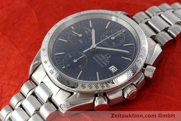 Used luxury watch Omega Speedmaster chronograph steel automatic Kal. 1152  | 142539 01