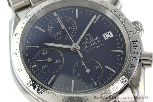 Used luxury watch Omega Speedmaster chronograph steel automatic Kal. 1152  | 142539 02