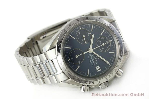 Used luxury watch Omega Speedmaster chronograph steel automatic Kal. 1152  | 142539 03